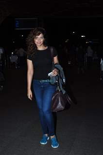 Neetu Chandra snapped at airport