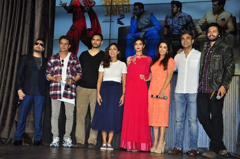 Celebs at Launch of 'Happy Bhag Jayegi'