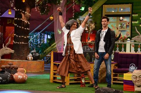 Hrithik Roshan and Gaurav Gera Promotes 'Mohenjo Daro' on sets of The Kapil Sharma Show