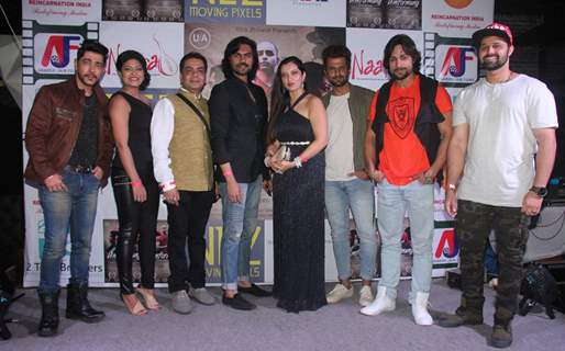 Gaurav Chopraa, Mudasir Ali with others at Umformung poster and book launch event at Bora Bora