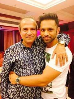 Rahul Vaidya at Suresh Wadkar's Birthday Bash!