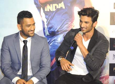 Sushant Singh Rajput and Mahendra Singh Dhoni Promotes 'MS Dhoni: The Untold Story' at PVR Juhu