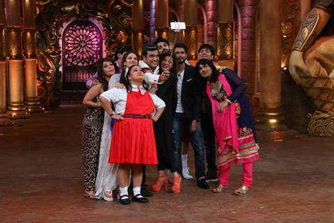 Colors TV Shoots for a 'Couple Special' Episode at 'Comedy Nights Bachao'