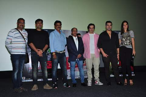 Cast at Promotion of 'Ye Toh Two Much Ho Gaya'