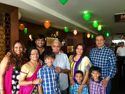 R. Madhavan celebrates father's 75th birthday in Chennai!