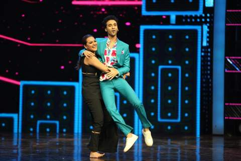 Sonakshi Sinha and Raghav Juyal at Promotion of 'Akira' on sets of Dance Plus