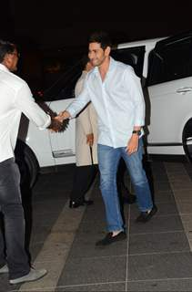 Mahesh Babu at Chiranjeevi's 61st Birthday Bash