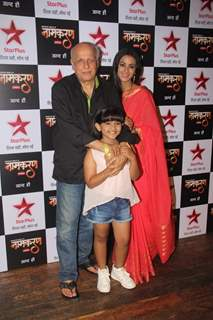 Barkha Bisht Sengupta and Mahesh Bhatt at Launch of Serial 'Naamkaran'
