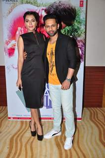 Ruhi Singh and Rahul Vaidya at Launch of Film 'Do Chaar Din'
