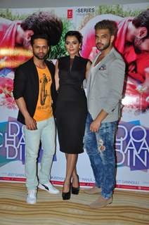 Ruhi Singh, Karan Kundra and Rahul Vaidya at Launch of Film 'Do Chaar Din'