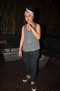 Hard Kaur at Singer Richa Sharma's Birthday Bash