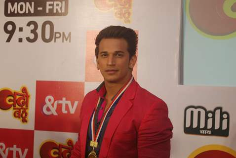 Prince Narula at Launch of &TV's Show 'Badho Bahu'