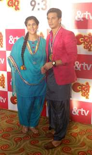 Prince Narula and Rytasha Rathore at Launch of &TV's Show 'Badho Bahu'