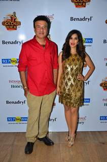 Sophie Choudry and Anu Malik at Launch of BIG Golden Voice - Season 4!