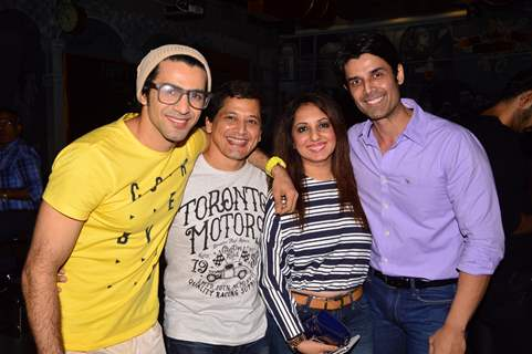 Vinod Singh, Munisha Khatwani, Neel Motwani and Amit Gaur at BCL Gujarat Bash!