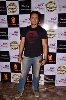 Iqbal Khan at BCL Gujarat Bash!
