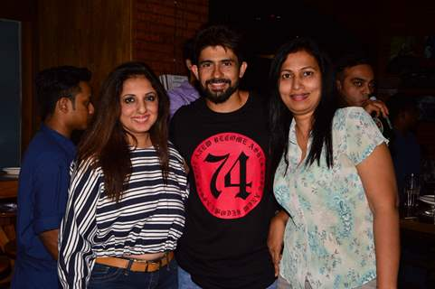 Hussain Kuwajerwala and Munisha Khatwani at BCL Gujarat Bash!