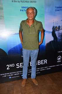 Sudhir Mishra at Special screening of the Film 'Island City'
