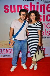 Tanaaz Currim Irani and Bakhtiyaar Irani at Screening of 'Sunshine Music Tours & Travels'