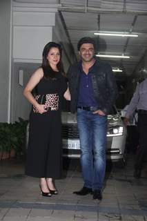 Sameer Soni and Neelam Kothari Snapped at Dipti Sandesara's Bash!