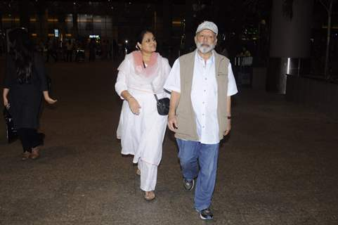 Airport Diaries: Pankaj Kapoor and Supriya Pathak!