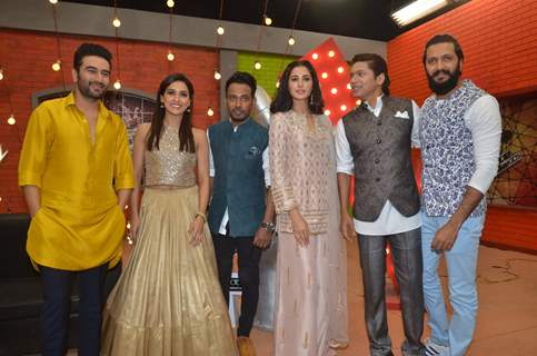 Celebs at Promotion of 'Banjo' on The Voice India Kids