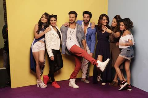 TV Celebs at Launch of 'Desi Explorers' series