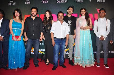 Daisy Shah, Rajpal Yadav and Mahesh Thakur at Launch of film 'Ram Ratan'