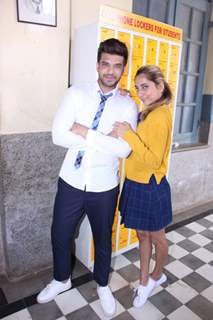 Karan Kundra and Anusha Dandekar snapped at Mtv's Promo Shoot
