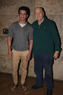 Prem Chopra and Sharman Joshi at Special Screening of 'Freaky Ali'