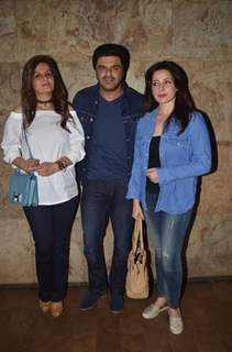 Samir Soni at Special Screening of 'Freaky Ali'
