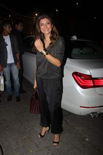 Sushmita Sen at Birthday Bash of Raj Kundra