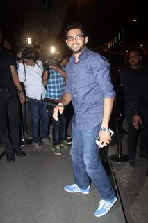 Aditya Thackeray at Birthday Bash of Raj Kundra