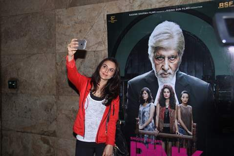 Preity Zinta at Special screening of Film 'Pink' at Light Box