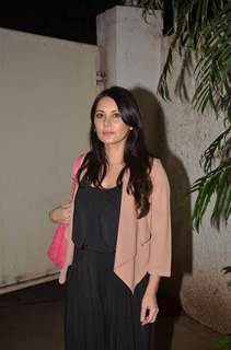 Minissha Lamba at Special screening of Film 'Pink' at Sunny Super Sound