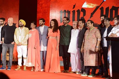 Celebs at Music launch of film 'Mirzya'