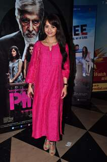 Devoleena Bhattacharjee at Special screening of Film 'Pink'