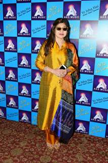 Alka Yagnik at Launch of Album 'Yeh Ishq Hai'