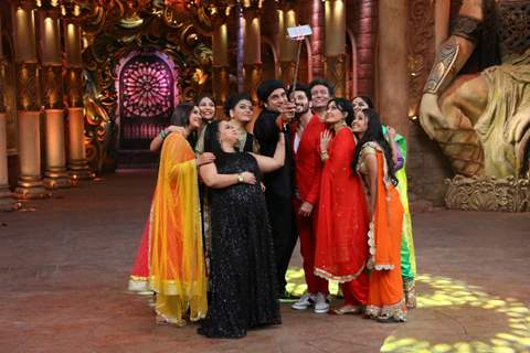 Colours TV actors visits on set of Comedy Nights Bachao