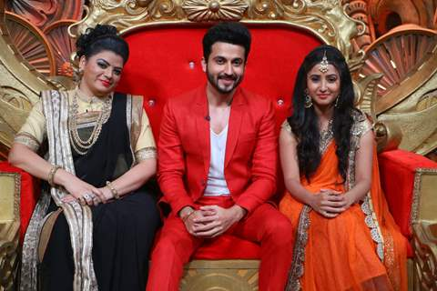 Prachee Pathak, Dheeraj Dhoopar and Sana Amin Sheikh visits on set of Comedy Nights Bachao