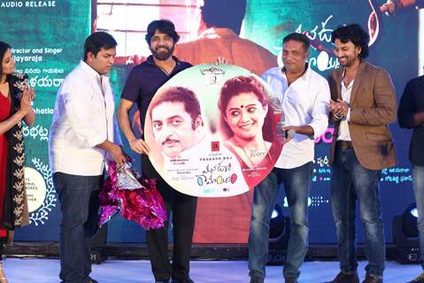 Akkineni Nagarjunaat music launch of 'Mana Oori Ramayanam'