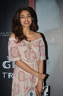 Sobhita Dhulipala at Screening of film 'The Girl on the train'