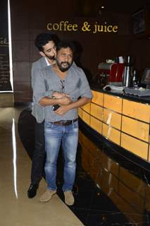 Angad Bedi and Shoojit Sircar at Success meet of 'Pink'