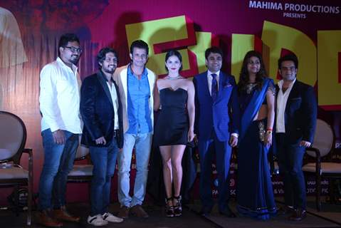 Sharman Joshi and Sunny Leone at Music launch of film 'Fuddu'