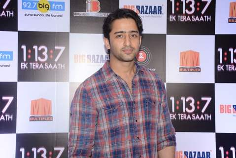 Shaheer Sheikh at Trailer and Music launch of film 'Ek Tera saath'