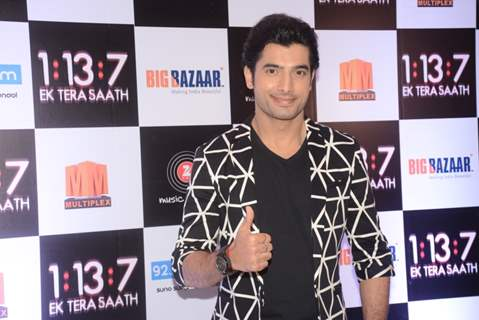 Ssharad Malhotra at Trailer and Music launch of film 'Ek Tera saath'