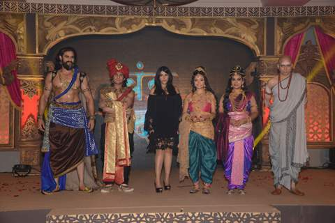 Celebs at Press meet of STAR Plus's upcoming show Chandra-Nandni