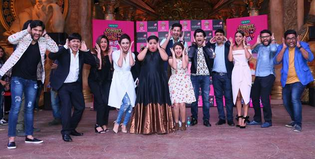 Celebs at Press meet of Comedy Nights Bachao