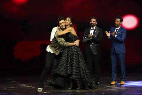Ranbir Kapoor and Shakti Mohan dancing on the sets of The Dance Plus 2