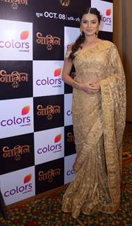 Aashka Goradia at Launch of Color TV's new show 'Naagin' Season 2